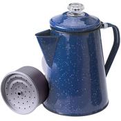 GSI Outdoors Enamelware Coffee Pot - Blue 8 Cup, , medium
