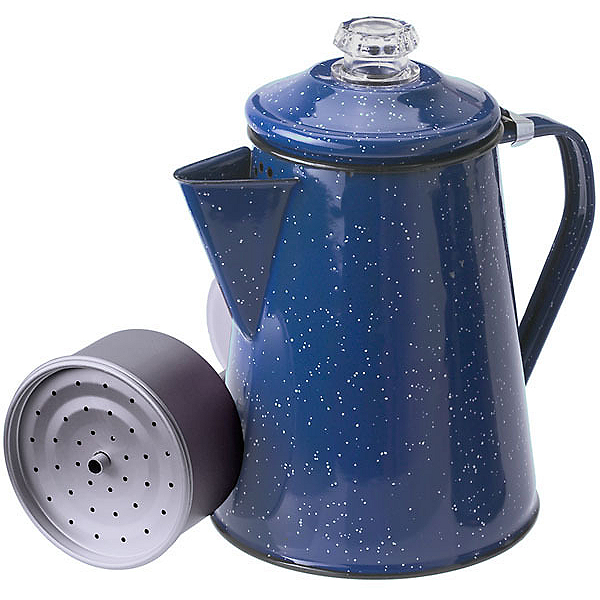 GSI Outdoors Enamelware Coffee Pot - Blue 8 Cup, , 600