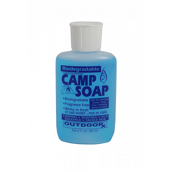 Outdoor Rx Biodegradable Camp Soap 2 oz. Unscented, , 600