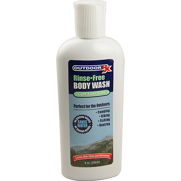 Outdoor Rx Rinse Free Body Wash, , 600
