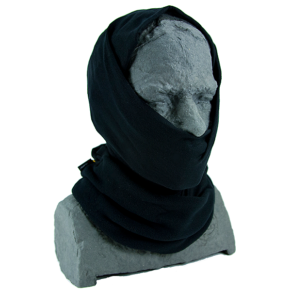 Buff Polar Multifunctional Headwear Black, Black, 600