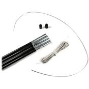 Eureka 9.5 mm Fiberglass Tent Pole Replacement Kit, , medium