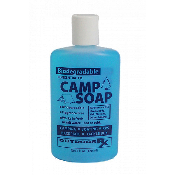 Outdoor Rx Biodegradable Camp Soap 4 oz. Unscented, , 600