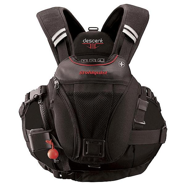 Stohlquist Descent Rescue Life Jacket - PFD, Black, 600