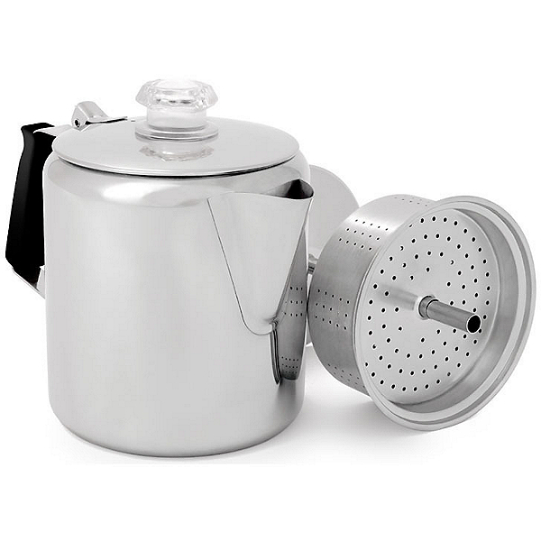 GSI Outdoors 6 Cup Glacier Stainless Steel Coffee Pot, , 600