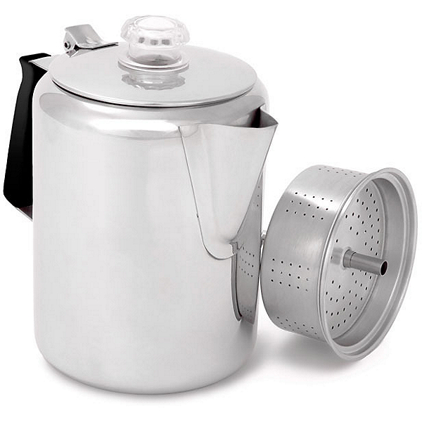 GSI Outdoors 9 Cup Glacier Stainless Steel Coffee Pot, , 600
