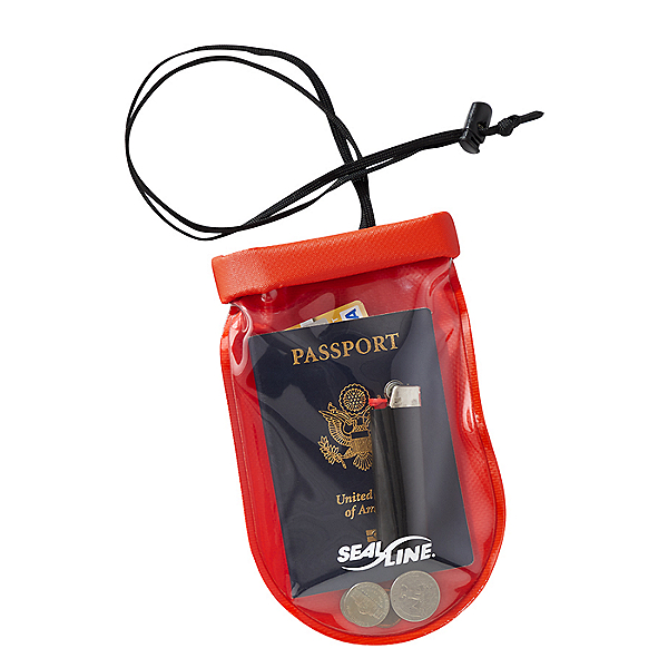SealLine See Pouch Watertight Pouch Large, Red, 600