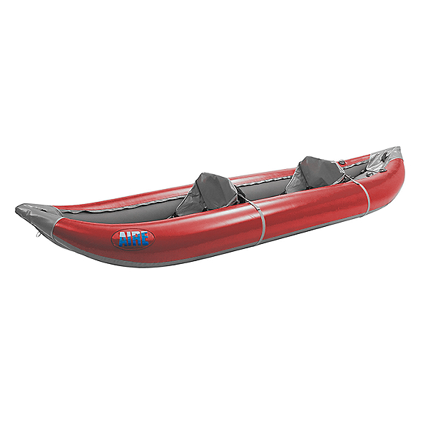 Aire Outfitter II Tandem Inflatable Kayak, Red, 600