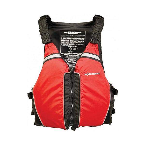 Extrasport Universal Life Jacket - PFD, Red/Black, 600