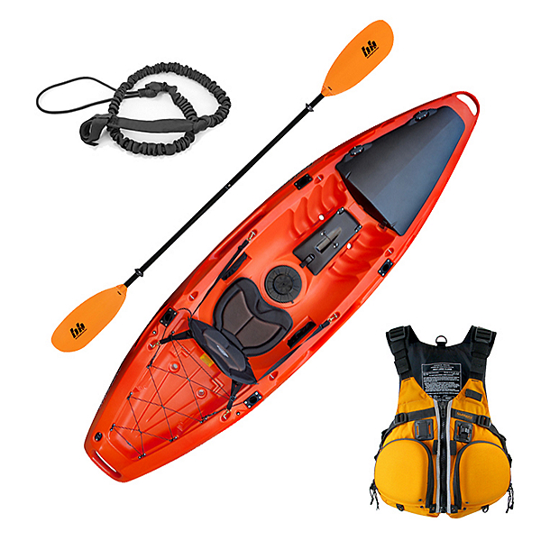 Feelfree Moken 10 Angler Kayak Sport Fishing Package, , 600