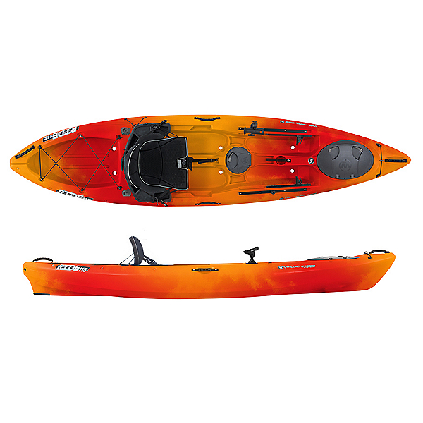 Wilderness Systems Ride 115 ACK Angler Kayak - Low Seat, , 600