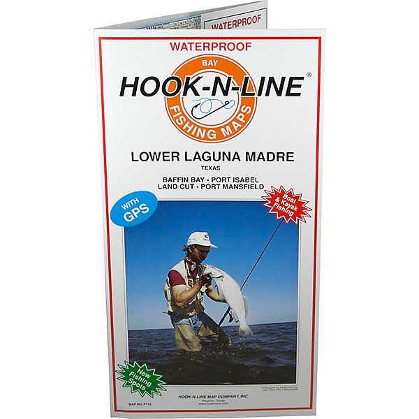 Hook-N-Line Map F115 Lower Laguna Fishing Map (With GPS), , 600