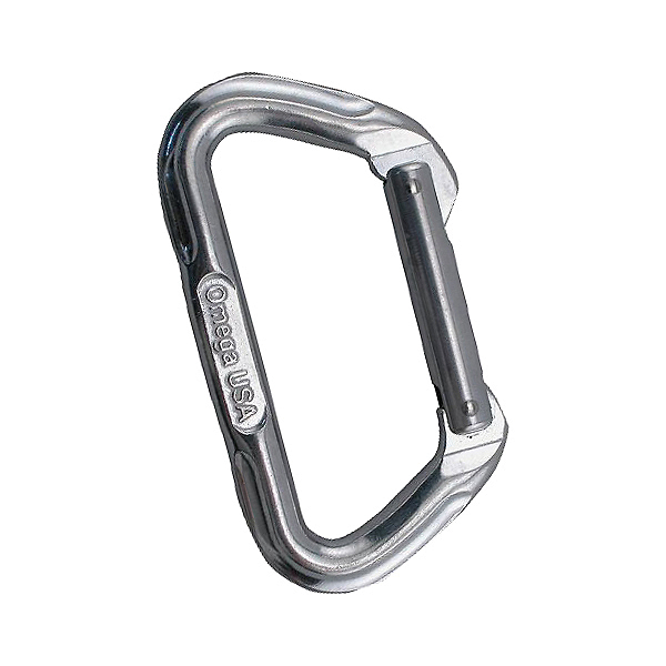 Omega Pacific Standard D Carabiner - Bright, , 600