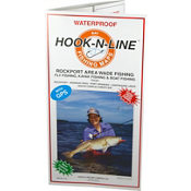 Hook-N-Line Map F130 Rockport Wade Fishing Map (With GPS), , medium