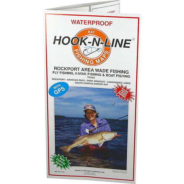 Hook-N-Line Map F130 Rockport Wade Fishing Map (With GPS), , 600