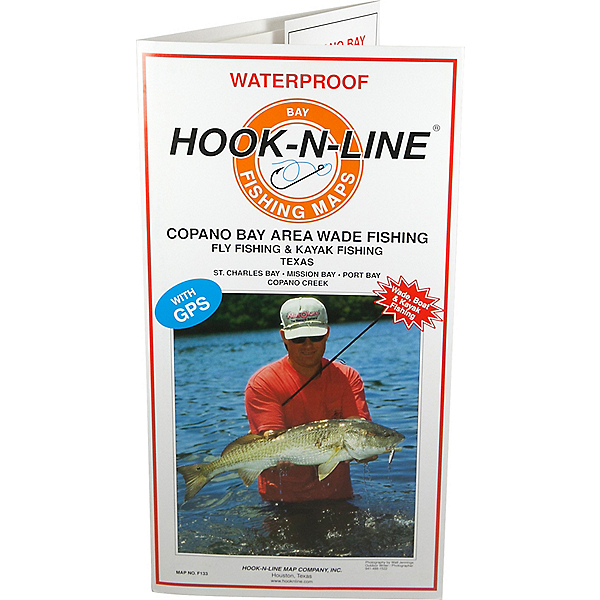 Hook-N-Line Map F133 Copano Bay Wade Fishing Map (With GPS), , 600