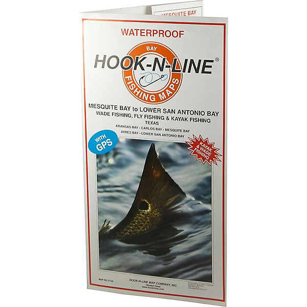 Hook-N-Line Maps F134 Mesquite Bay to Lower San Antonio Bay (With GPS), , 600