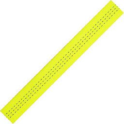 1-inch Climb-spec Webbing, Fluorescent Yellow, 256