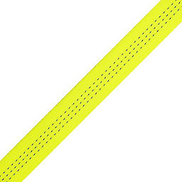 BlueWater 1-inch Climb-spec Webbing Spool, Fluorescent Yellow, 256