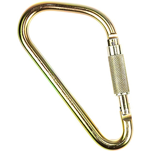 Omega Pacific Ladder Hook Screw-Lok Carabiner, , 600