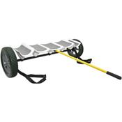 Hobie Tandem Island Kayak Cart with Tuff Tires 2021, , medium