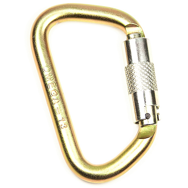 Omega Pacific Modified D 3-Stage Quik-Lok Carabiner, , 600