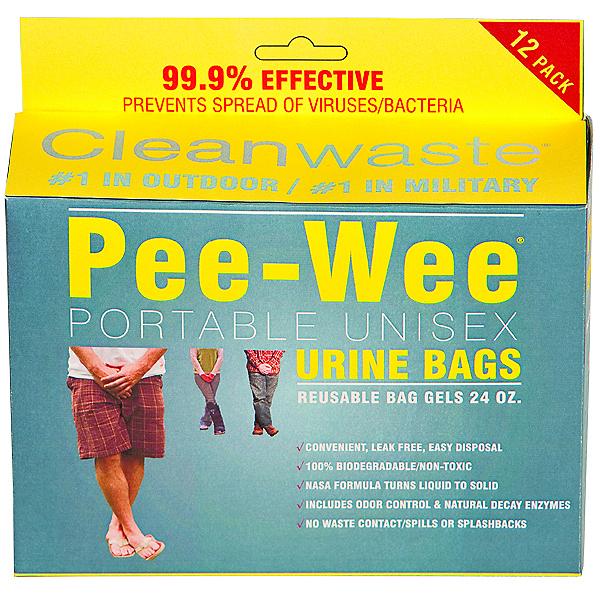Cleanwaste Pee-Wee Unisex Urine Bag - 12 pack, , 600