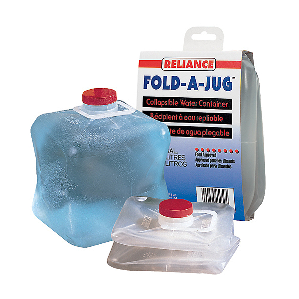 Reliance Fold-A-Jug 1 Gallon Water Jug, , 600