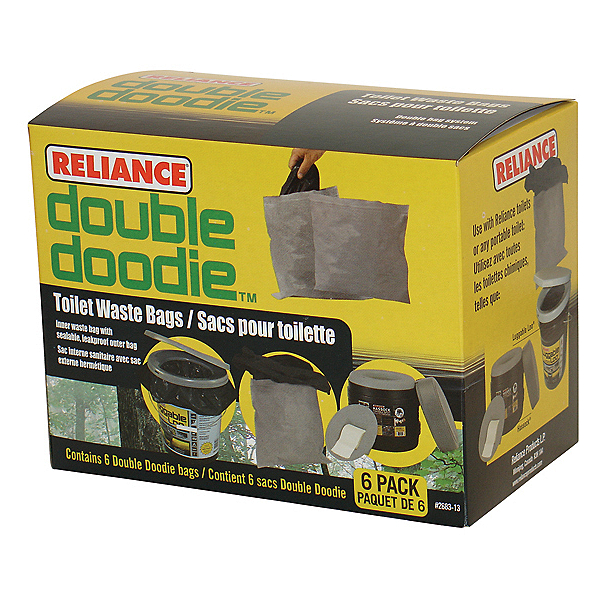 Reliance Double Doodie Waste Bag, , 600