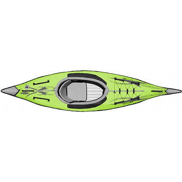 Advanced Elements AdvancedFrame Inflatable Kayak, Lime, 600