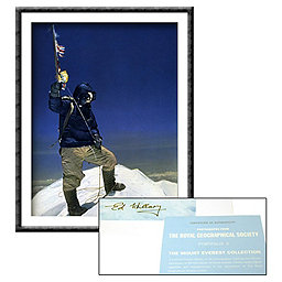 Mountain Gear Tenzing On The Summit - Signed, , 256