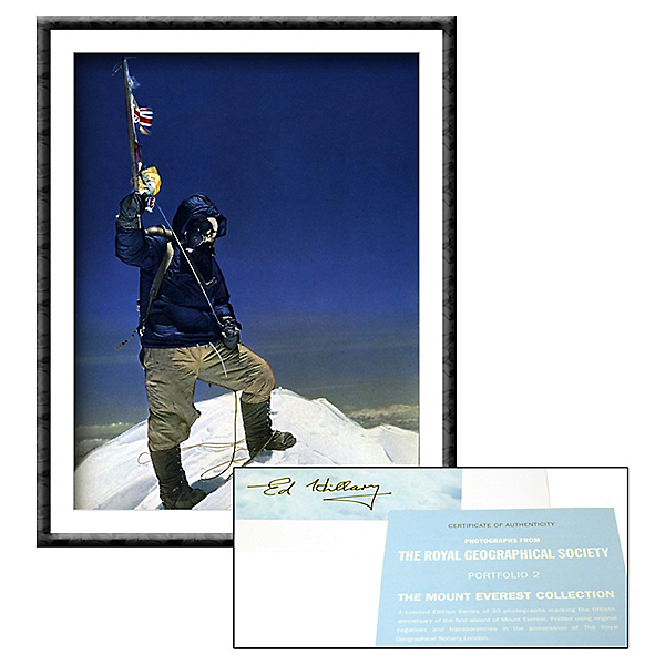 Mountain Gear Tenzing On The Summit - Signed, , 600
