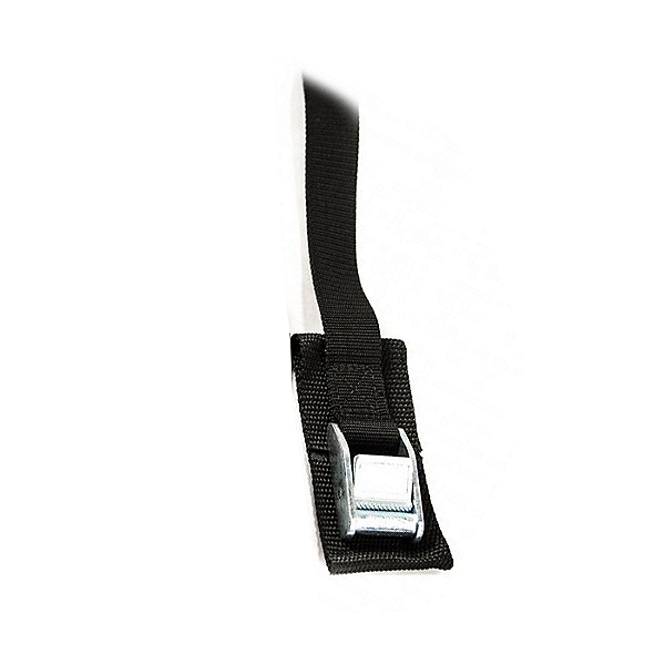 Cam Buckle 6 Ft. Tie Down Strap (Each) Black - 6 ft, Black, 600