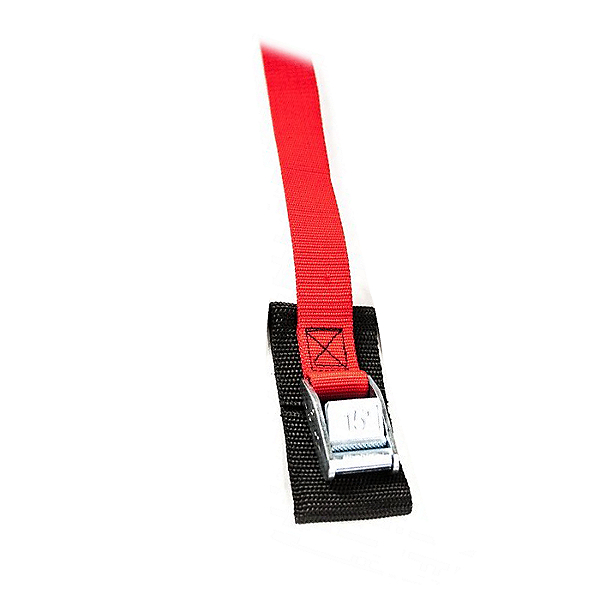 Cam Buckle 6 Ft. Tie Down Strap (Each) Red - 6 ft, Red, 600