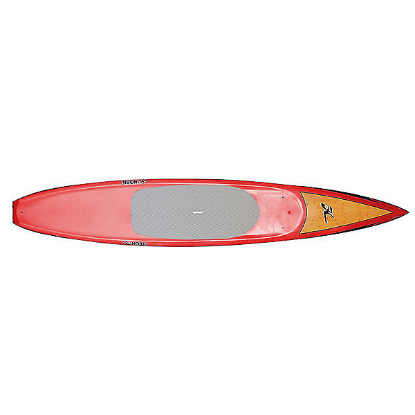 Hobie SUP E-Tour BCXC Stand Up Paddleboard 12-6, Red/Bamboo, 600