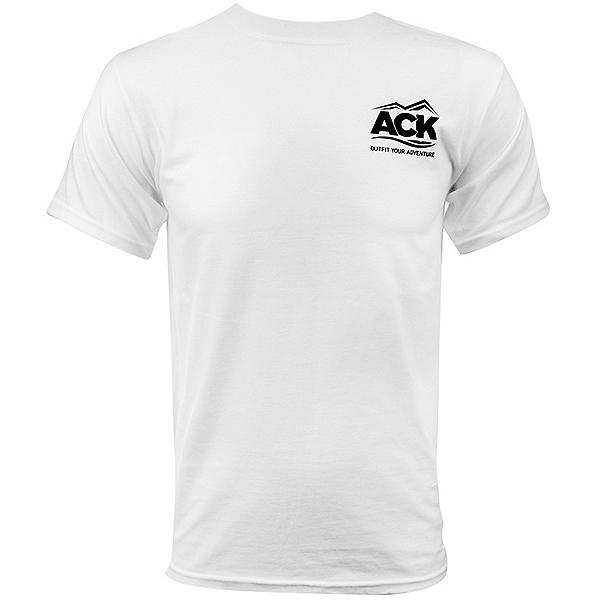 ACK Logo T-Shirt - Closeout, White, 600