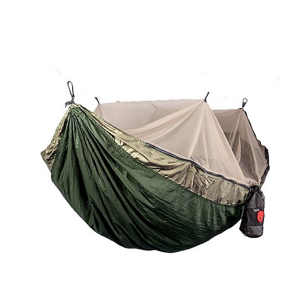 Grand Trunk Skeeter Beeter Pro Hammock, Olive/Tan, 600