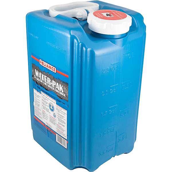 Reliance 2.5 Gallon Water-Pak Water Container, , 600