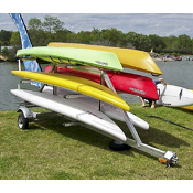 Trailex Six Kayak Capacity Trailer - SUT-450-M6, , medium