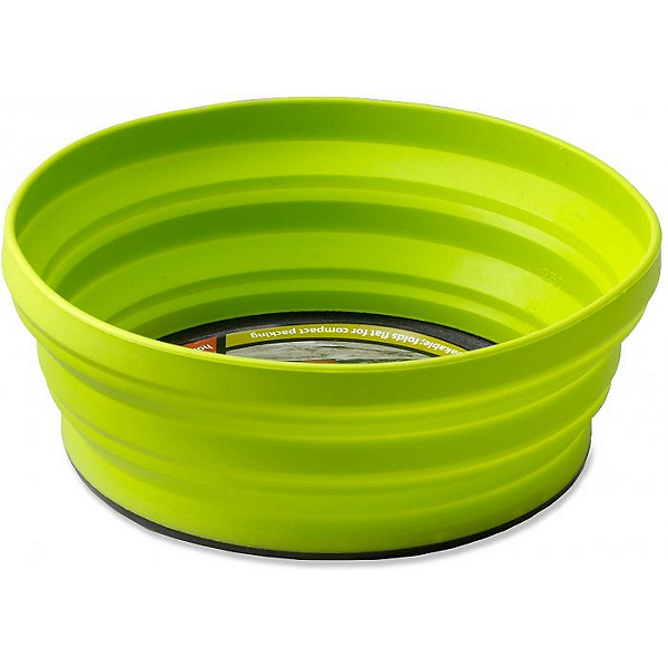 Sea to Summit X-Bowl Collapsible Bowl, Lime, 600