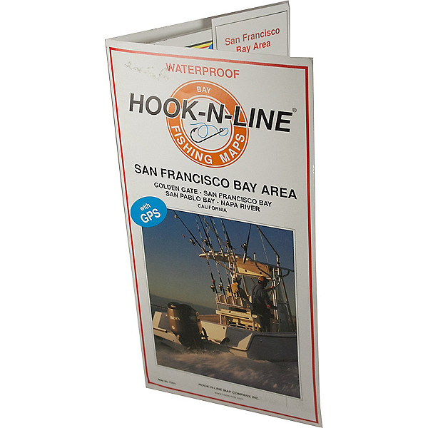 Hook-N-Line Map - F203 San Francisco Bay Area (with GPS), , 600