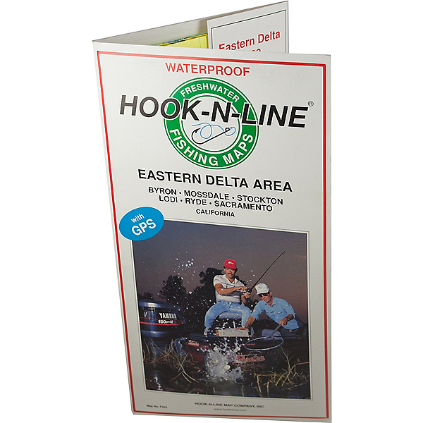 Hook-N-Line Map - F205 Eastern Delta Area (With GPS), , 600