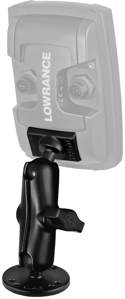RAM Mount for Lowrance Elite-4 and Mark-4 Fishfinders
