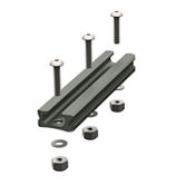 YakAttack Gear Trac GT90 4 Inch Aluminum Mounting Track - Single, , medium
