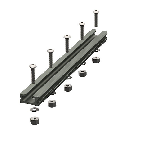 YakAttack Gear Trac GT90 8 Inch Aluminum Mounting Track - Single, , 600