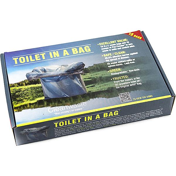 Cleanwaste Toilet in a Bag - 15 Pack, , 600