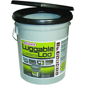 Reliance Luggable Loo Toilet Seat and Bucket, , medium