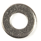 Harmony Stainless Steel Washer 0.19 in. - 5 Pack, , medium
