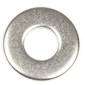 Harmony Stainless Steel Flat Washer 0.25 in. - 5 pack, , medium