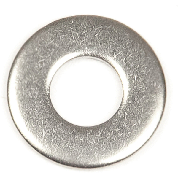 Harmony Stainless Steel Flat Washer 0.25 in. - 5 pack, , 600